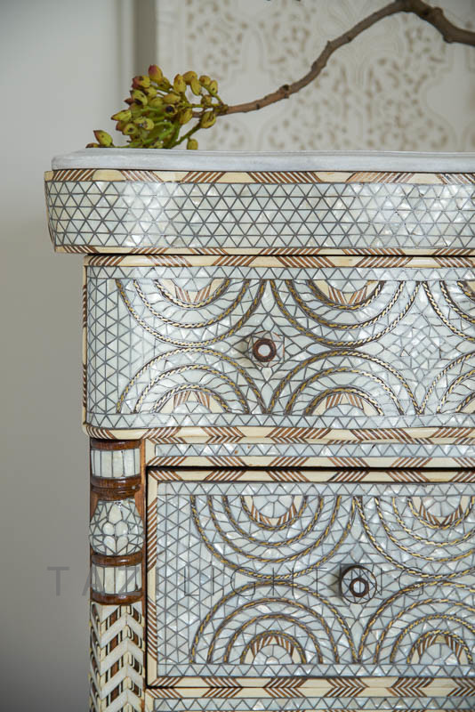 Mother of Pearl Moroccan dresser